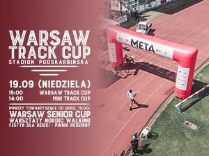 plakat Warsaw Track Cup